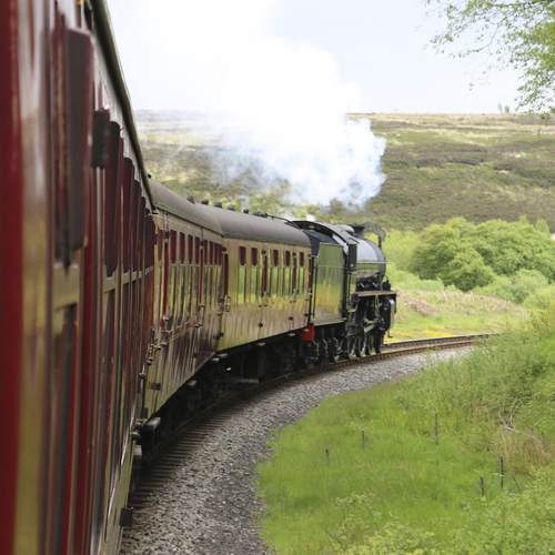Free Sound Effect - Steam Train, North Yorkshire Moors